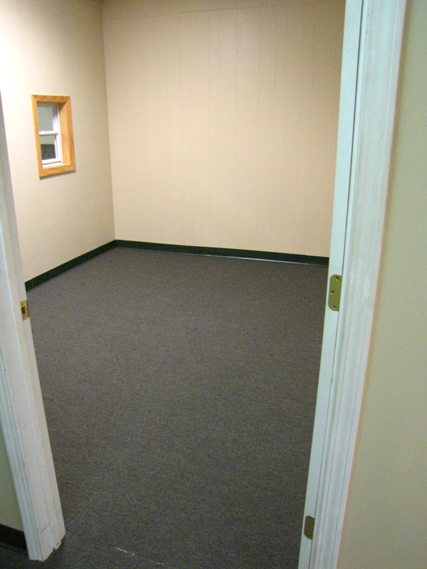 storage and office space. Storage Doors, Carpeted Or Office Space, Space And